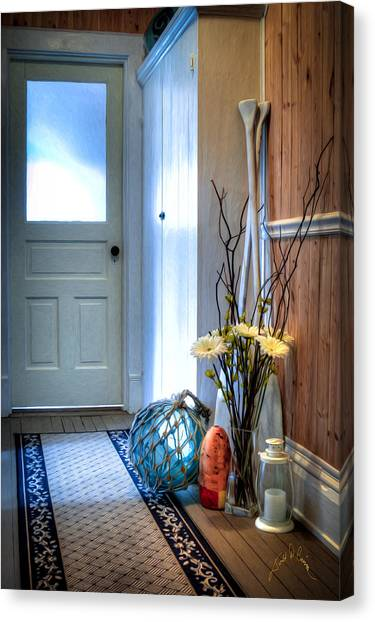 Fishermans Hallway Canvas Print by Williams-Cairns Photography LLC
