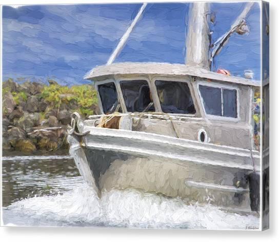 Fisherman's Prayer - West Coast Art Canvas Print