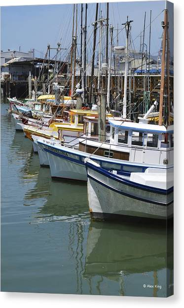 Fishermans Wharf Canvas Print
