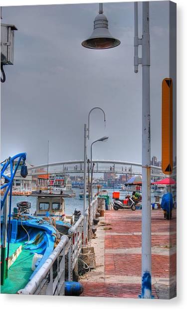 Fisherman's Wharf Taiwan Canvas Print
