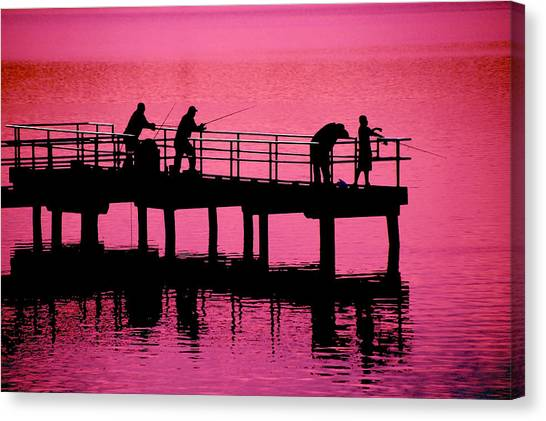 Fishermen Canvas Print