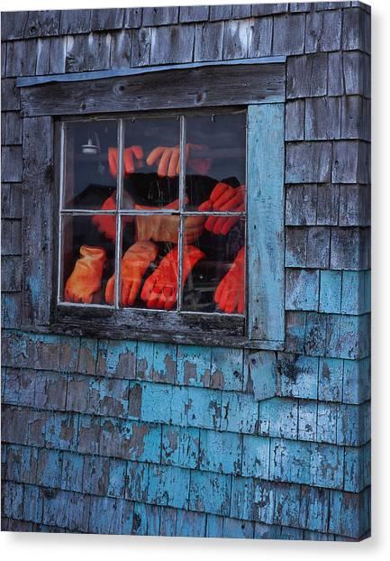 Fishermen's Hands Canvas Print
