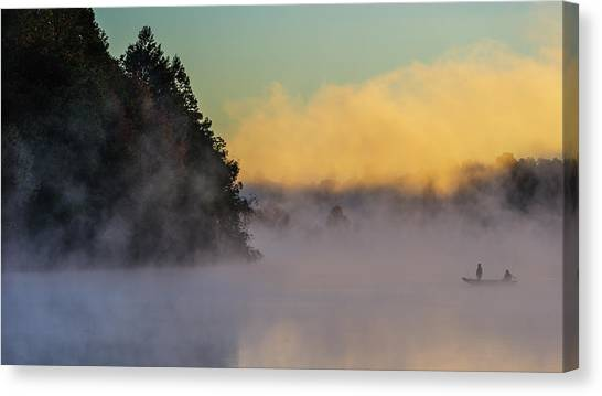 Marshes Canvas Print - Fishing-3 by ??????? / Austin