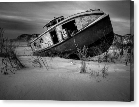 Life-threatening Canvas Print - Fishing Boat by Jakub Sisak