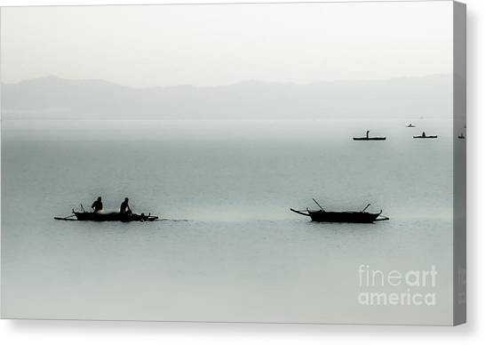 Fishing On The Philippine Sea   Canvas Print