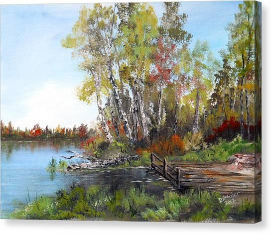 Fishing Spot Canvas Print