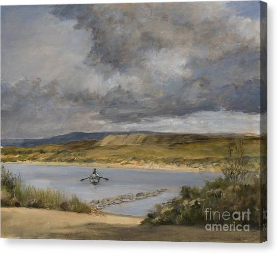 Canvas Print - Fishing Story by Susan Driver
