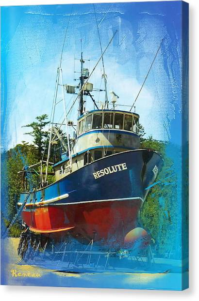 Fishing Vessel Resolute Canvas Print