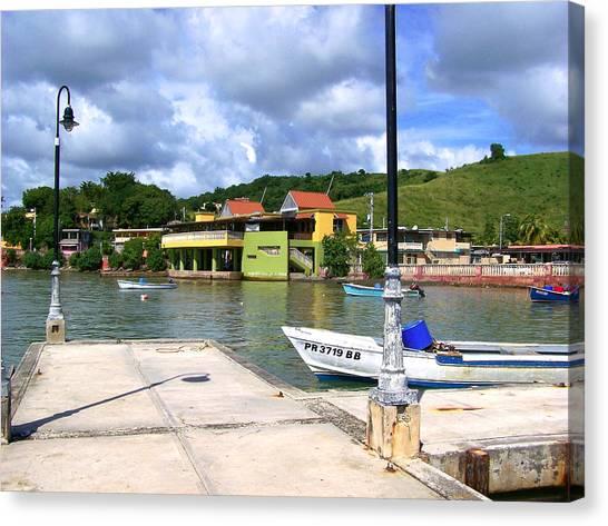 Fishing Village Puerto Rico Canvas Print