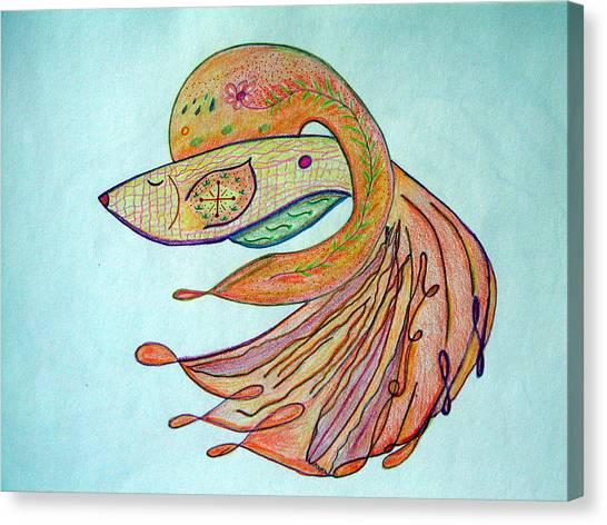 Fishstiqueart 2009 Canvas Print by Elmer Baez