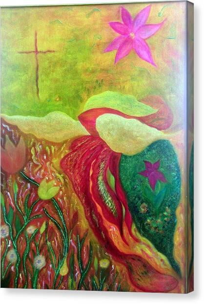 Fishstiqueart 2010 Canvas Print by Elmer Baez