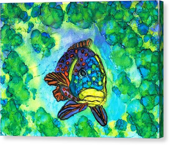 Fishy Canvas Print