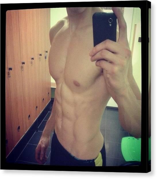 Gym Canvas Print - #fitness #gym #training #for #fun #boy by Arracrew Czechboys