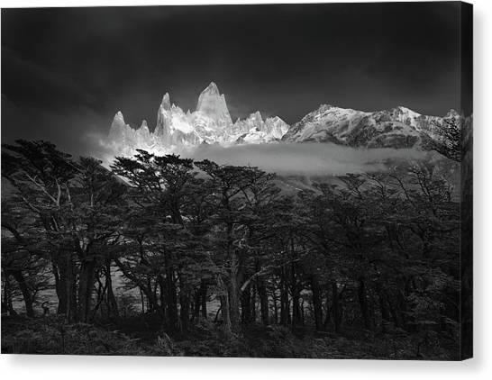 Argentinian Canvas Print - Fitz Roy by Lucian Constantin