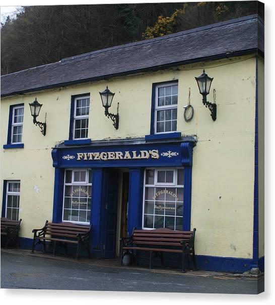 Fitzgeralds  Pub From Ballykissangel Canvas Print