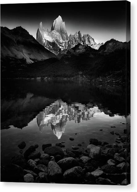 Argentinian Canvas Print - Fitzroy Splendor At Dawn by Phil Green