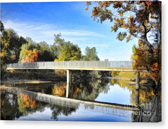 Five Mile Bidwell Park Canvas Print
