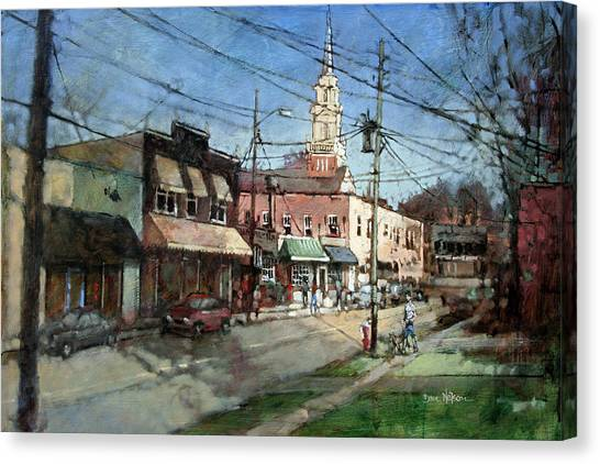 Five Points Evening Canvas Print