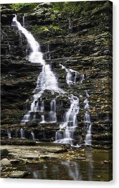 Fl Ricketts Falls Canvas Print