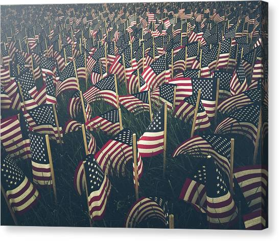 Flags Canvas Print by Fran Polito