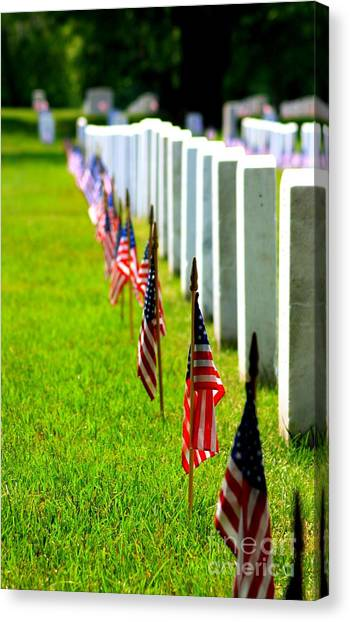 Flags In Canvas Print