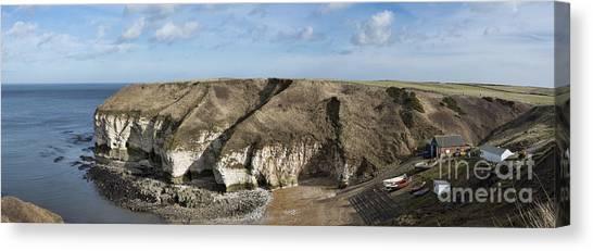 Flamborough North Landing Canvas Print