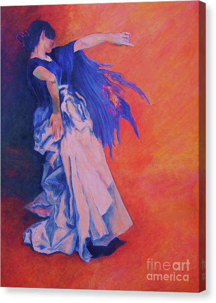Flamenco-john Singer-sargent Canvas Print