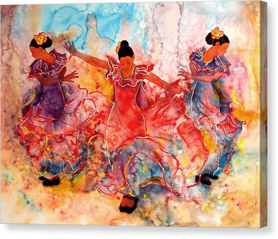 Flamenco Canvas Print - Flamenco by John YATO