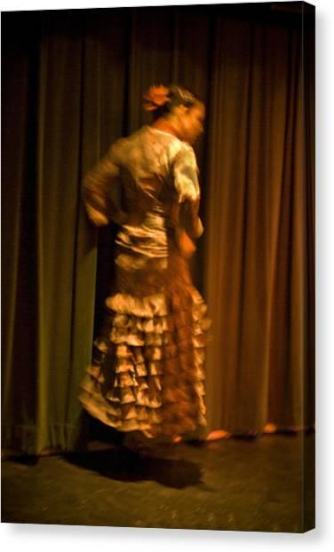 Flamenco Series 14 Canvas Print