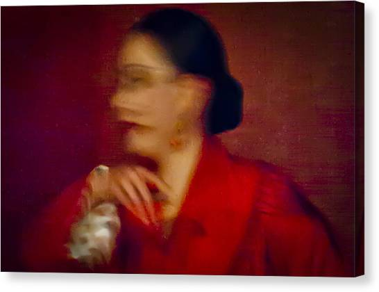 Canvas Print featuring the photograph Flamenco Series 4 by Catherine Sobredo