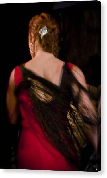 Flamenco Series 6 Canvas Print