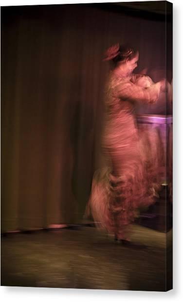 Flamenco Series 8 Canvas Print