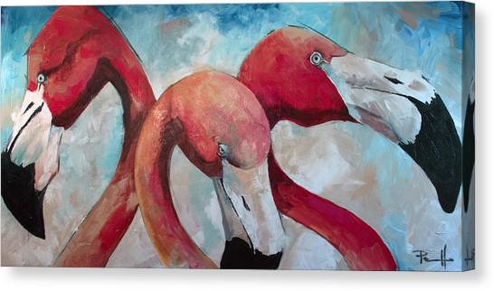 Flaming Joes Canvas Print