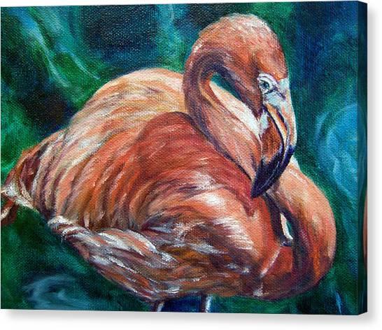 Flamingo Flare Canvas Print