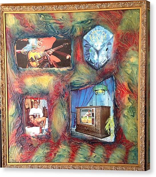 Alfredo Garcia Canvas Print - Flash Generation By Alfredo Garcia by Alfredo Garcia