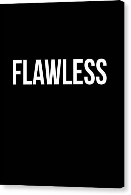 Hips Canvas Print - Flawless Poster by Naxart Studio