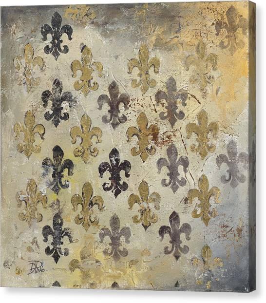 Fleur De Lis Canvas Print - Fleur De Lis by Patricia Pinto