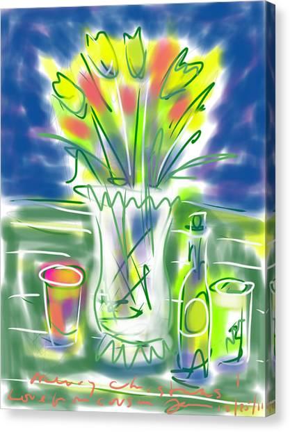 Fleur Noel Canvas Print