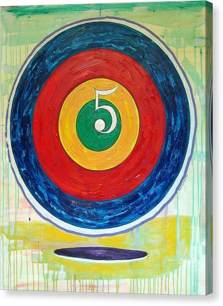 Jasper Johns Canvas Print - Flight Delay #5 by Kevin Callahan