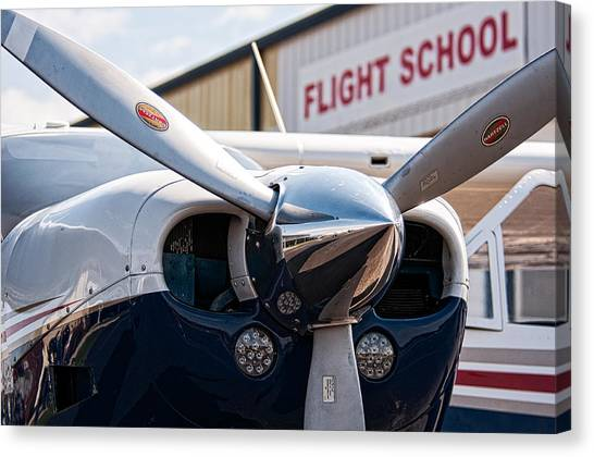 Flight School Canvas Print