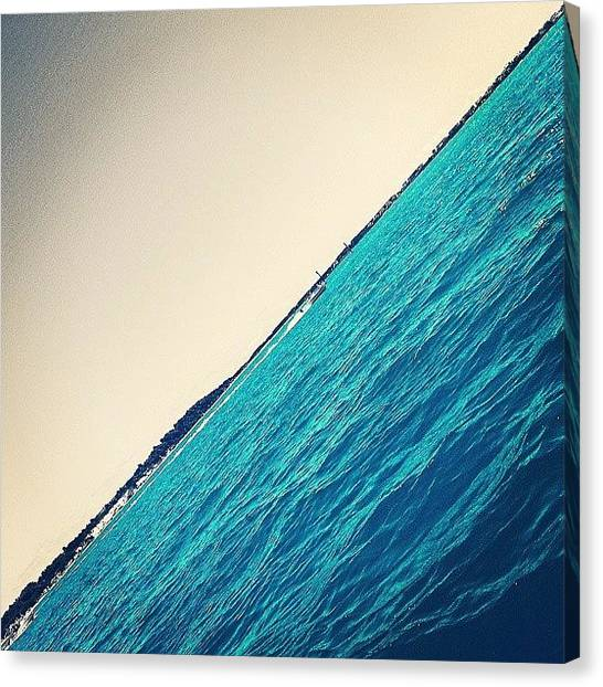 Half Life Canvas Print - Floating To Paradise by Clay Pritchard