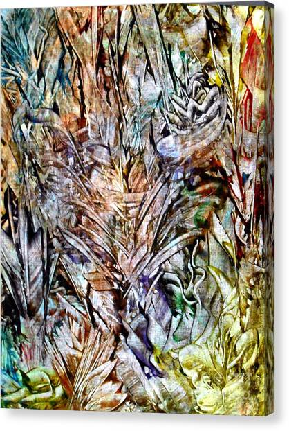 Flora Canvas Print by Danya Hammoudi