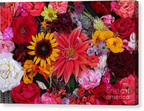 Floral Bounty 2 Canvas Print