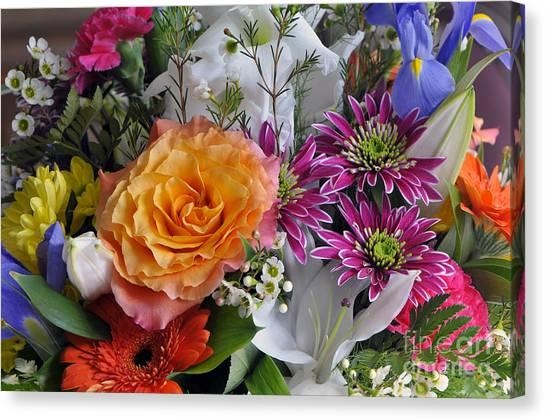 Floral Bouquet 6 Canvas Print
