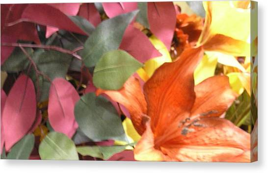 Floral Fall Canvas Print