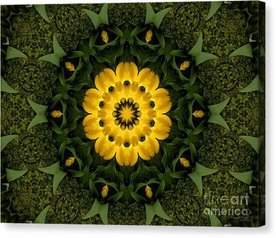 Floral Fantasy - 34 Canvas Print