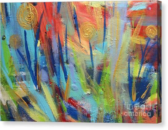 Floral Harmony Canvas Print