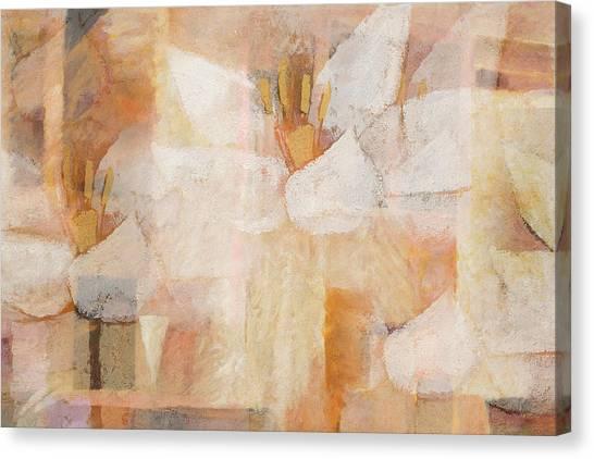 Imagination Canvas Print - Floral Imagination by Lutz Baar