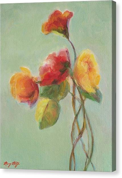 Floral Painting Canvas Print