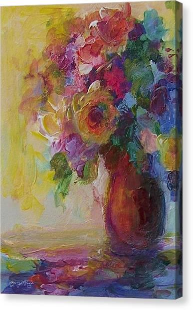 Floral Still Life Canvas Print